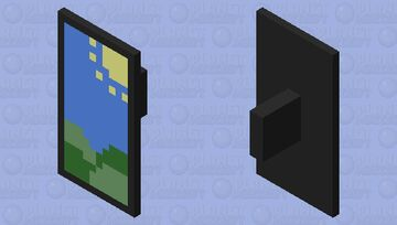 Play in the shield! Minecraft Mob Skin
