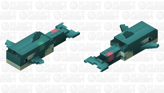 Orca Plushie Minecraft Skin