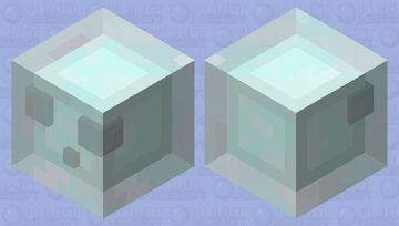 frost slime Minecraft Mob Skin