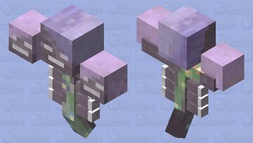 Pastel & Floral Wither Minecraft Mob Skin