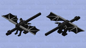 Dragon with extra wings Minecraft Mob Skin
