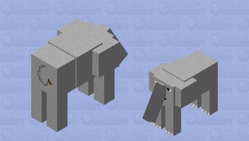Elephant Minecraft Mob Skin