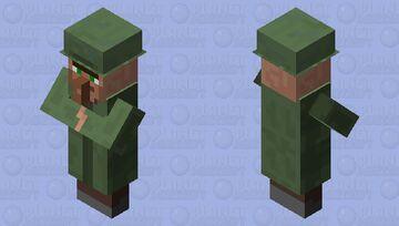 Lost villager Minecraft Mob Skin