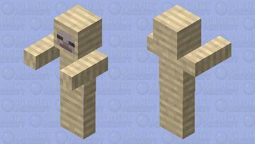 mummy husk Minecraft Mob Skin