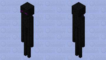 Improved Enderman Minecraft Mob Skin