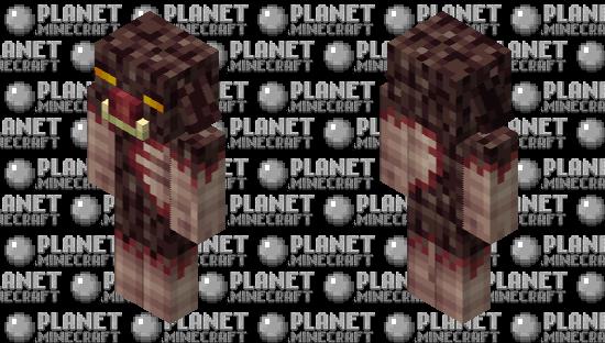Piglin Beast Minecraft Skin