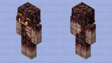 Piglin Beast Minecraft Mob Skin