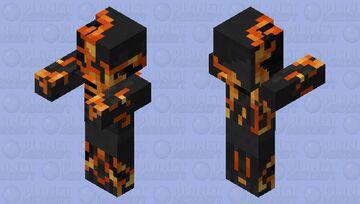 Dark Zombie Pigman Minecraft Mob Skin