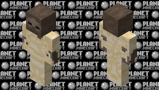 Mummified Zombie Minecraft Skin