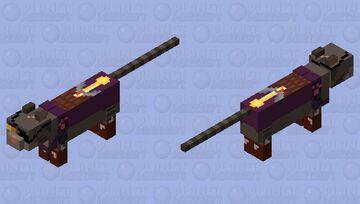 Captain Gideon- Dungeon Dogs Minecraft Mob Skin