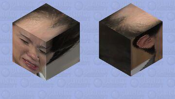 Sad Mayuko 豊田真由子 Minecraft Mob Skin