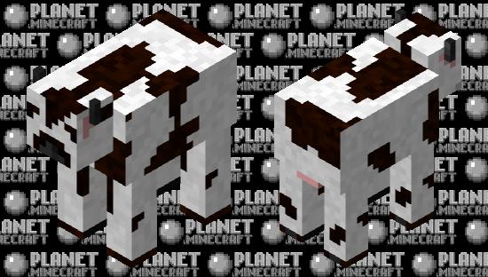 White Cow Minecraft Skin