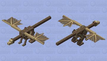 Jersey Devil~ mythical creatures mob skin contest Minecraft Mob Skin