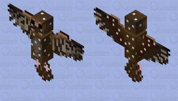 Oil Bird Minecraft Mob Skin