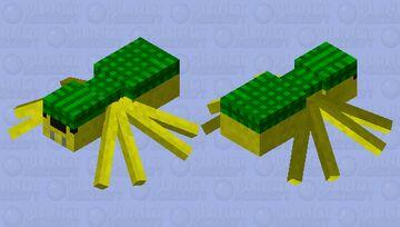 Spurtle (Spider Turtle) Minecraft Mob Skin