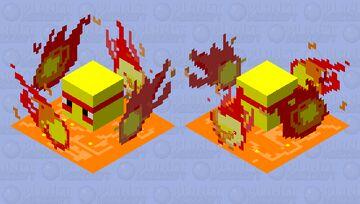 Lava Shulker Minecraft Mob Skin