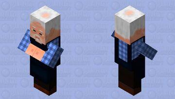 Villger Re-desine Minecraft Mob Skin
