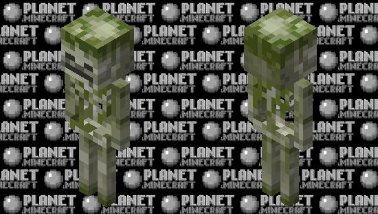 Mossy Skeleton MCD Minecraft Skin