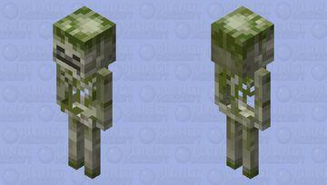 Mossy Skeleton MCD Minecraft Mob Skin