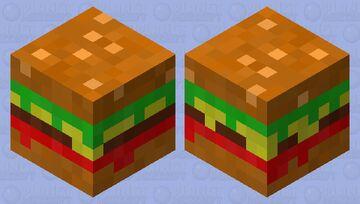 bouncy burger Minecraft Mob Skin