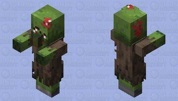 Re-textured Zombie Villager Minecraft Mob Skin