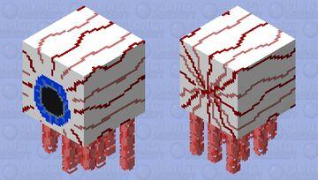 Ghast Eye Minecraft Mob Skin