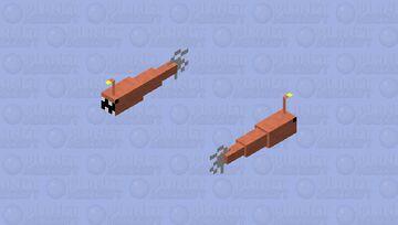 angler fish Minecraft Mob Skin