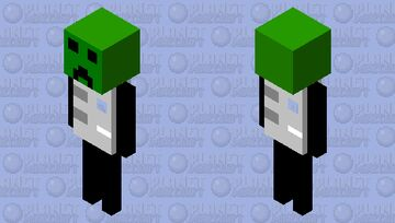 creepster Minecraft Mob Skin