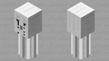 Ghastling (ink tears) Minecraft Mob Skin