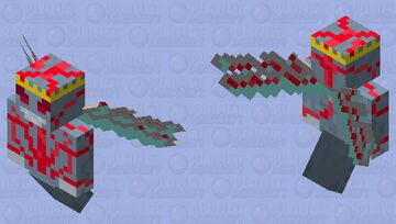 Demon King Minecraft Mob Skin