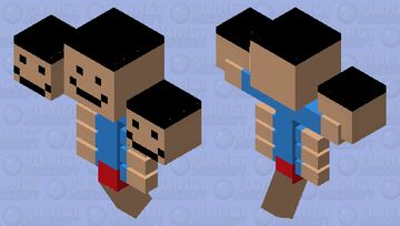 Hey poopy butt (because...), wanna see me speed wither ? Minecraft Mob Skin