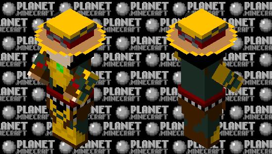 Dark Raiden (Mortal Kombat 11) Minecraft Skin