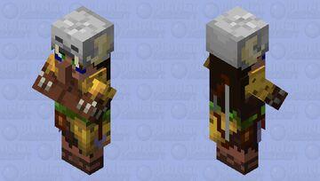 Huntress (Villager profession variant) Minecraft Mob Skin
