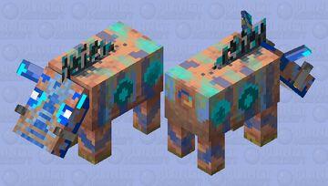Tamed Hoglin Minecraft Mob Skin