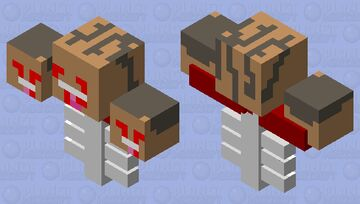 flesh and bone wither Minecraft Mob Skin