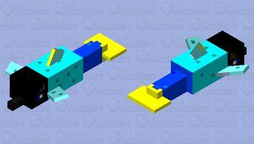 delfin nurek Minecraft Mob Skin