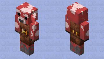 Cowlin zombified (piglin/cow/mushroom/java) Minecraft Mob Skin