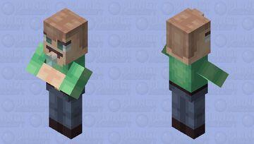 Chugging water || Nose-y Village Minecraft Mob Skin
