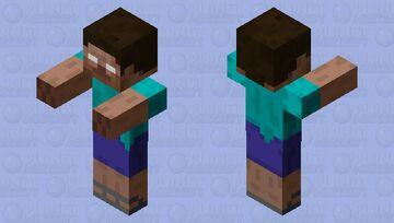 Herobrine Minecraft Mob Skin