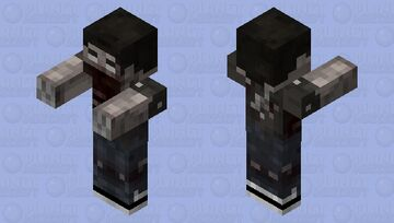 Infected Dude (2) Minecraft Mob Skin