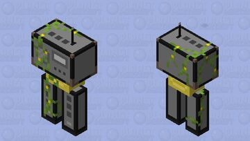 Contents of an overgrown shed Minecraft Mob Skin