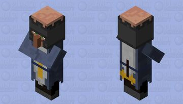 Templar (Villager profession) Minecraft Mob Skin