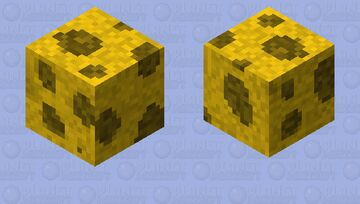 Sponge or Cheese? Minecraft Mob Skin