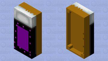 Ender Bed Minecraft Mob Skin