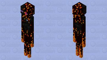 Netherman Minecraft Mob Skin