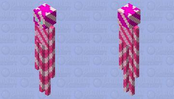 Candy cane enderman Minecraft Mob Skin