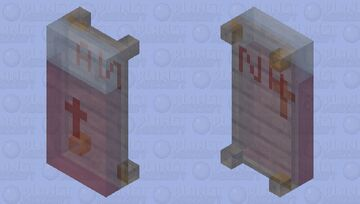 Death Bed with my initials (●~●) Minecraft Mob Skin