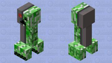 Creeper 1.0 Minecraft Mob Skin