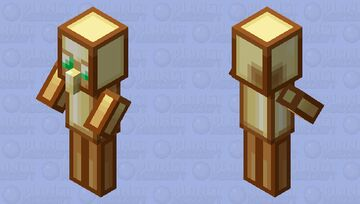 Totem Of Undying XL Minecraft Mob Skin