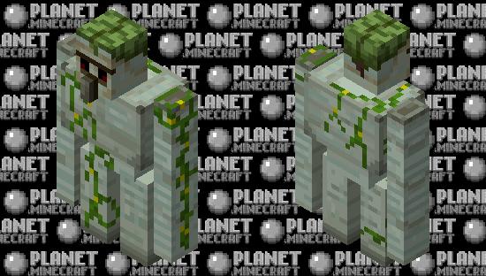 Swamp iron golem by ALEXYSSSJ4 Minecraft Skin